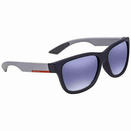 1a3611160783 Prada - Prada Linea Rossa Light Grey Gradient Blue Square Mens Sunglasses  PS03QSF-UR73A0-59 - Walmart.com
