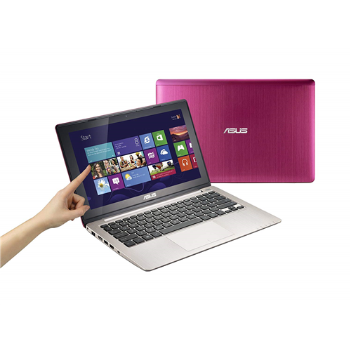 """ASUS VivoBook X202E-DH31T-PK 11.6"""" Multi-Touch Notebook Computer Pink - Refurbished"""