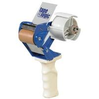 TDWH2 Blue/White Steel/Plastic Tape Logic 2 Inch Work Horse Carton Sealing Tape Dispenser 1 EACH