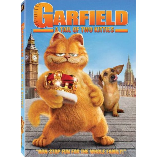 Garfield A Tail Of Two Kitties Dvd Walmart Com Walmart Com