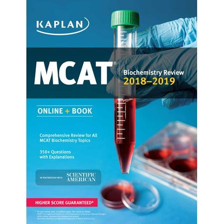 Mcat Biochemistry Review 2018 2019   Online   Book