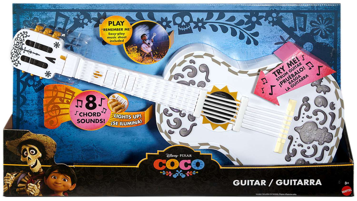 Disney   Pixar Coco Guitar by Mattel