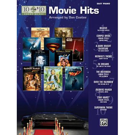 10 for 10 Sheet Music Movie Hits : Easy Piano Solos - Halloween Night Piano Sheet Music