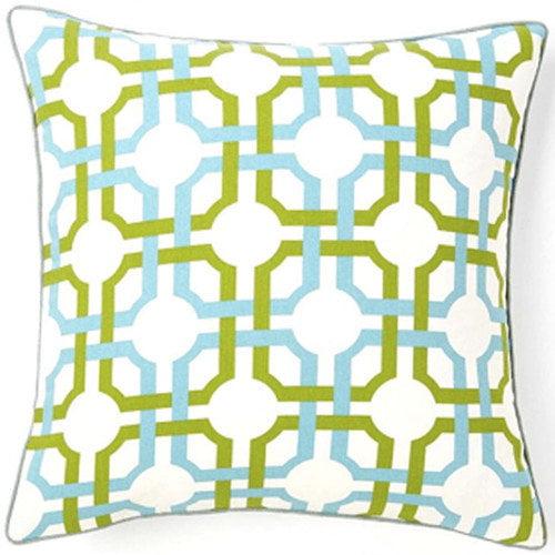 Jiti Grill Confetti Square Cotton Pillow