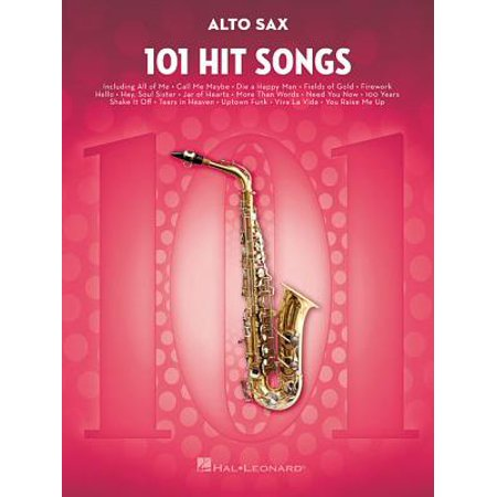 101 Hit Songs : For Alto Sax ()