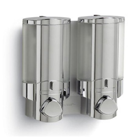 Better Living BLP 76235 6 Aviva Shower Dispenser 2 Chamber Satin Silver   6. Better Living BLP 76235 6 Aviva Shower Dispenser 2 Chamber Satin