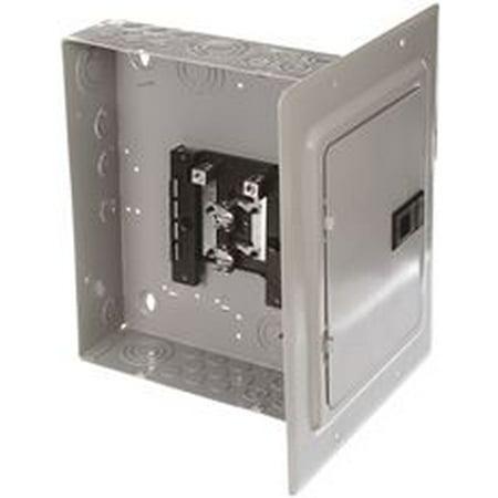 Murray Lc008Dfu Load Center, 8 Spaces, 16 Circuits, 125 Amp, Main Lug, Flush Mount