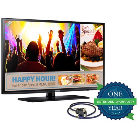 75″ LED HDTV with 1 Year Commercial Warranty & RS-232 Adapter