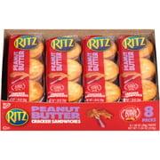 Ritz Peanut Butter Cracker Sandwich, 1.38 Oz., 8 Count
