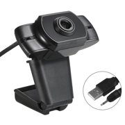 1080P USB Webcam Video Conference Camera Clip-on Camera Live Streaming Cam Computer Camera for Laptop and Desktop Calling, Conferencing, Live Streaming, Online Studying