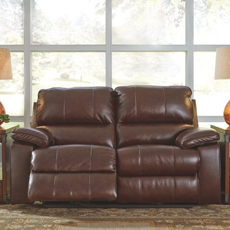 Outstanding Signature Design By Ashley Transister Leather Power Reclining Loveseat Beatyapartments Chair Design Images Beatyapartmentscom