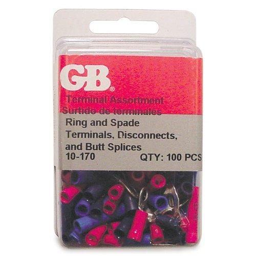 22-14 AWG Vinyl Wire Termination Kit 100 Piece PK100 GARDNER BENDER 10-170