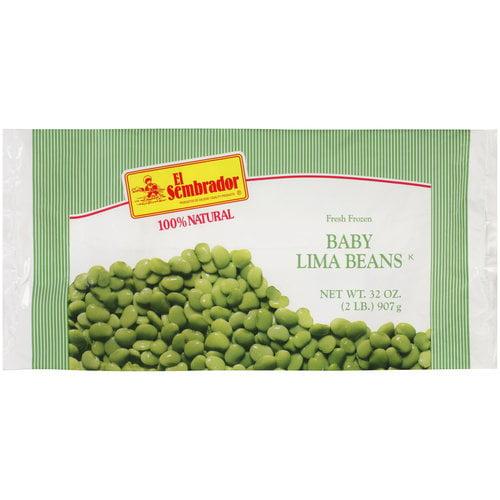 El Sembrador Fresh Frozen Baby Lima Beans, 32 oz