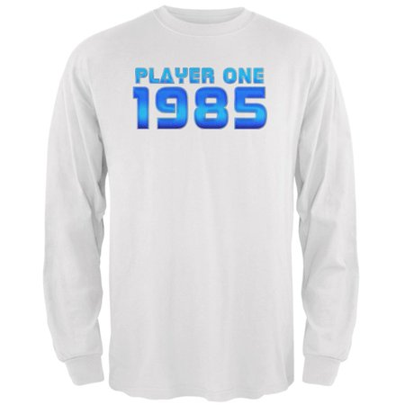 1985 Player One Birthday Mens Long Sleeve T Shirt