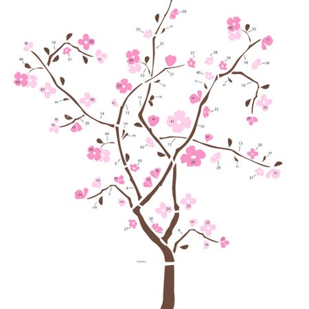 RoomMates Spring Blossom Tree Wall Decals