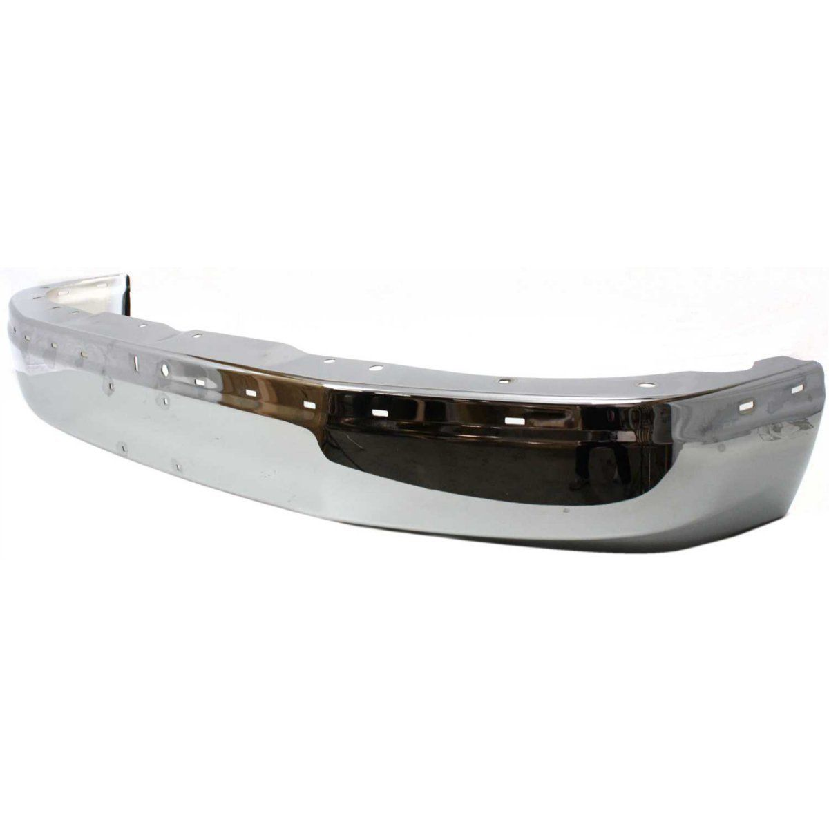 NEW FRONT BUMPER CHROME STEEL FITS 2003-2017 CHEVROLET EXPRESS 2500 GM1002459