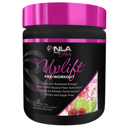 NLA for Her, Uplift Pre Workout Powder, Cherry Limeade, 40