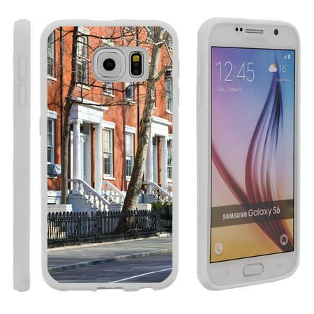Samsung Galaxy S6 G920, Flexible Case [FLEX FORCE] Slim Durable TPU Sleek Bumper with Unique Designs - Old School Living