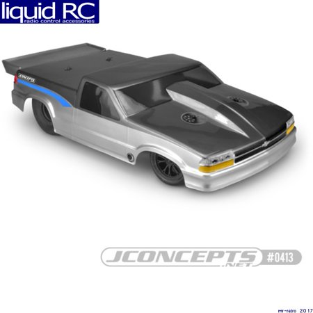 JConcepts 0413 2002 Chevy S10 drag truck Street Eliminator body