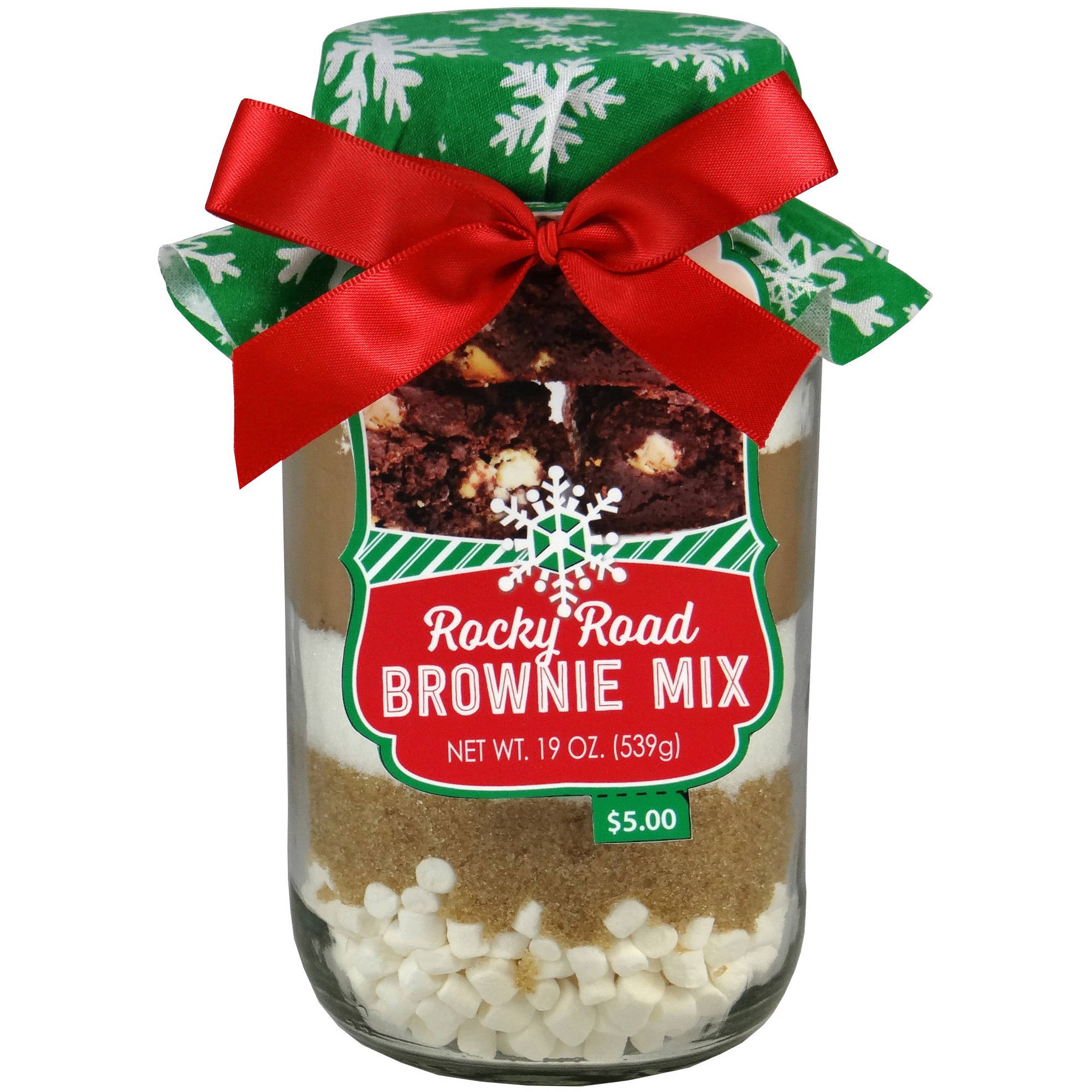 Holiday Baking Mix in a Jar, Rocky Road Flavor, 19 oz