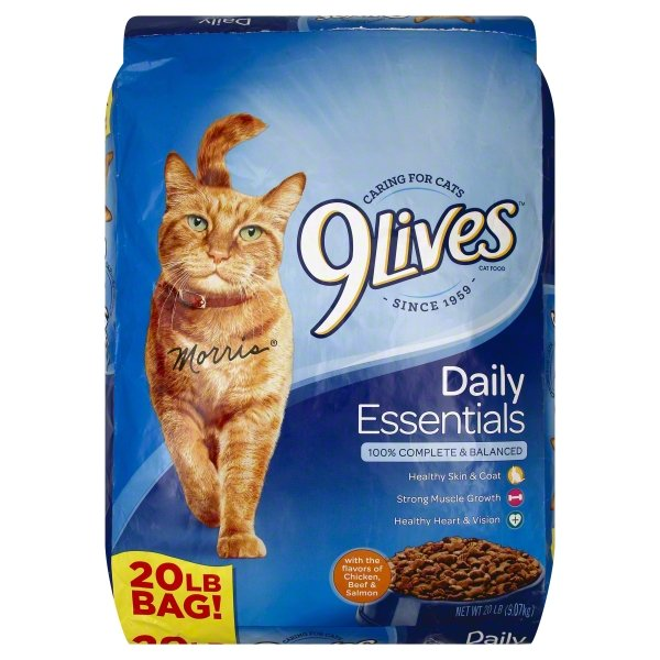 9Lives Daily Essentials Dry Cat Food, 20-Pound Bag by The J.M. Smucker Company