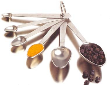 Amco Super 6 Measuring Spoons by Amco