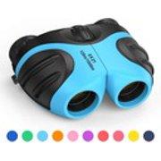 8X21 binoculars for outdoor bird watching light blue