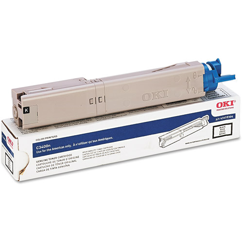 Oki 4345930 High-Yield Toner, 2000 Page-Yield