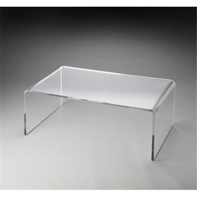 Butler Specialty Company 3398140 Crystal Clear Acrylic Cocktail Table