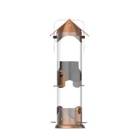 Nature's Way Wide Deluxe Easy Clean Tube Bird Feeder ()