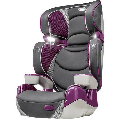 Evenflo RightFit High Back Booster Car Seat, Hollyhock