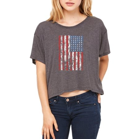 1bb2f98d964d Mom s Favorite - 4th of July Flags American Flag Vintage Womens ...