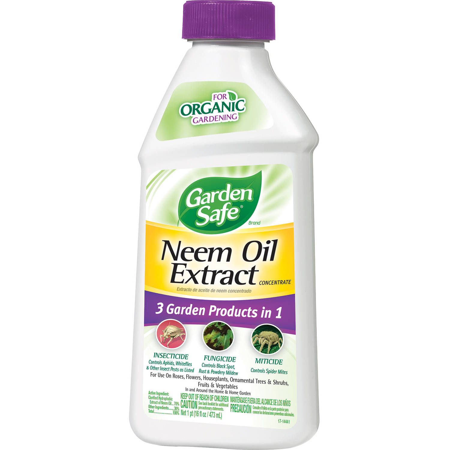 Garden Safe Neem Oil Extract Concentrate, 16 ounces