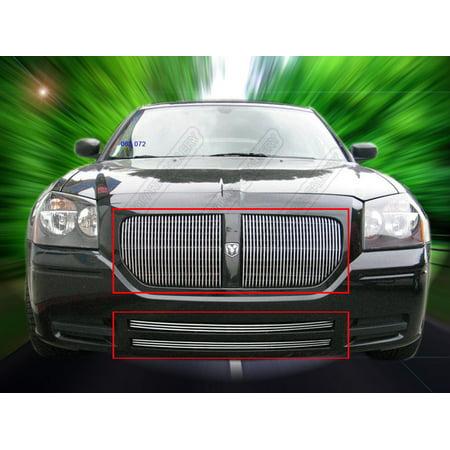 Fedar Billet Grille Combo For 2005-2007 Dodge Magnum Except SRT8 (Vertical)