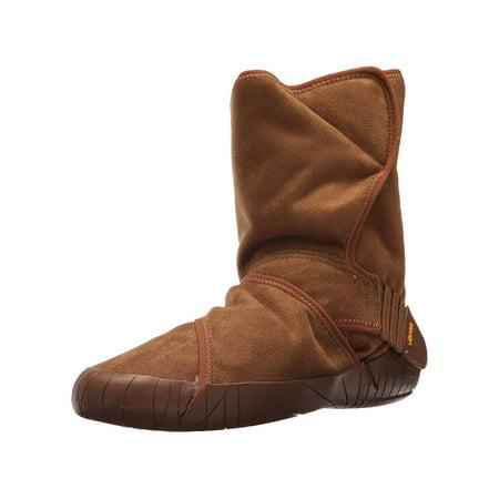 Vibram Furoshiki Mid Boot Classic Shearling Camel Brown Sneaker