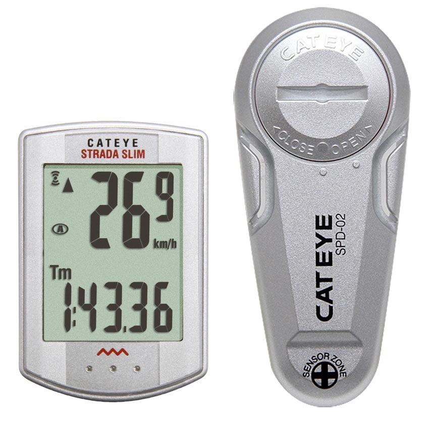 CatEye Strada Slim Wireless Cycling Computer CC-RD310W: Black