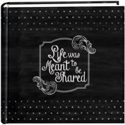 "Pioneer 2-Up Chalkboard Print Album 4""X6""-Shared"