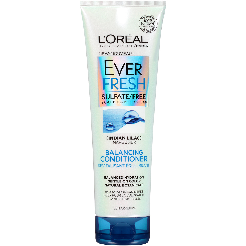 L'Oreal Paris EverFresh Balancing Conditioner, Balanced Hydration, 8.5 Fl Oz