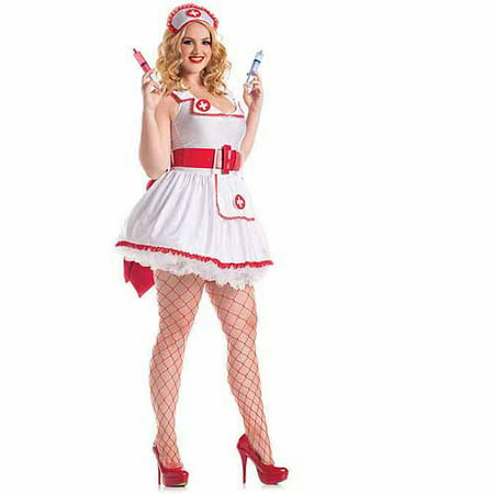 Plus Size Temptress Nurse Betty Costume (Plus Size Nurse Costume)