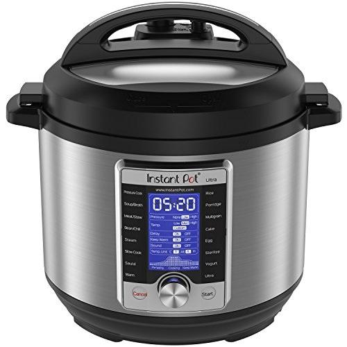 Instant Pot Ultra 6 Qt 10-in-1 Multi-Use Programmable Pressure Cooker, Slow Cooker, Rice Cooker, Yogurt Maker,... by INSTANT POT