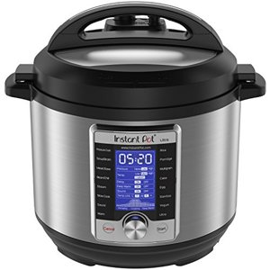 Instant Pot Ultra 6 Qt 10-in-1 Multi- Use Programmile Pressure Cooker, Slow Cooker, Rice Cooker, Yogurt Maker, Cake Maker, Egg Cooker, Sauté, Steamer, Warmer, and Sterilizer