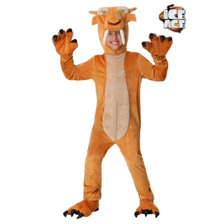 Diego the Sabertooth Tiger Costume for Boys - San Diego Costume