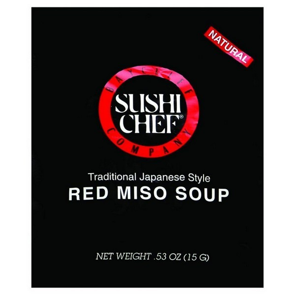 Sushi Chef Soup Mix - Miso Red - .53 Oz - Pack of 12
