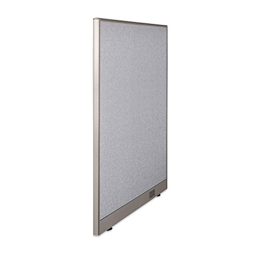 "36""W x 72""H Wall Mounted Office Partition Cubicle Panel R..."
