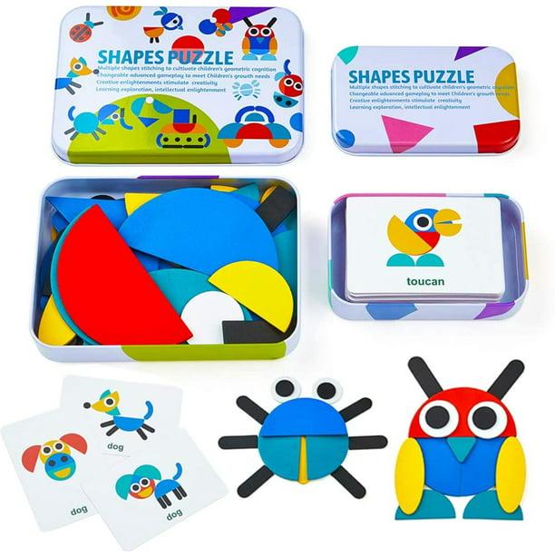 Educational Montessori Toy Animal Puzzle Kid Children Unisex Games Cognitive New