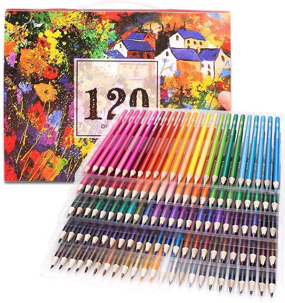 DEDC Art Supplies - 120 Colored Pencils For Adult Coloring Book Color Pencil  Set For Drawing Coloring Pages Great Art School Supplies - Walmart.com -  Walmart.com