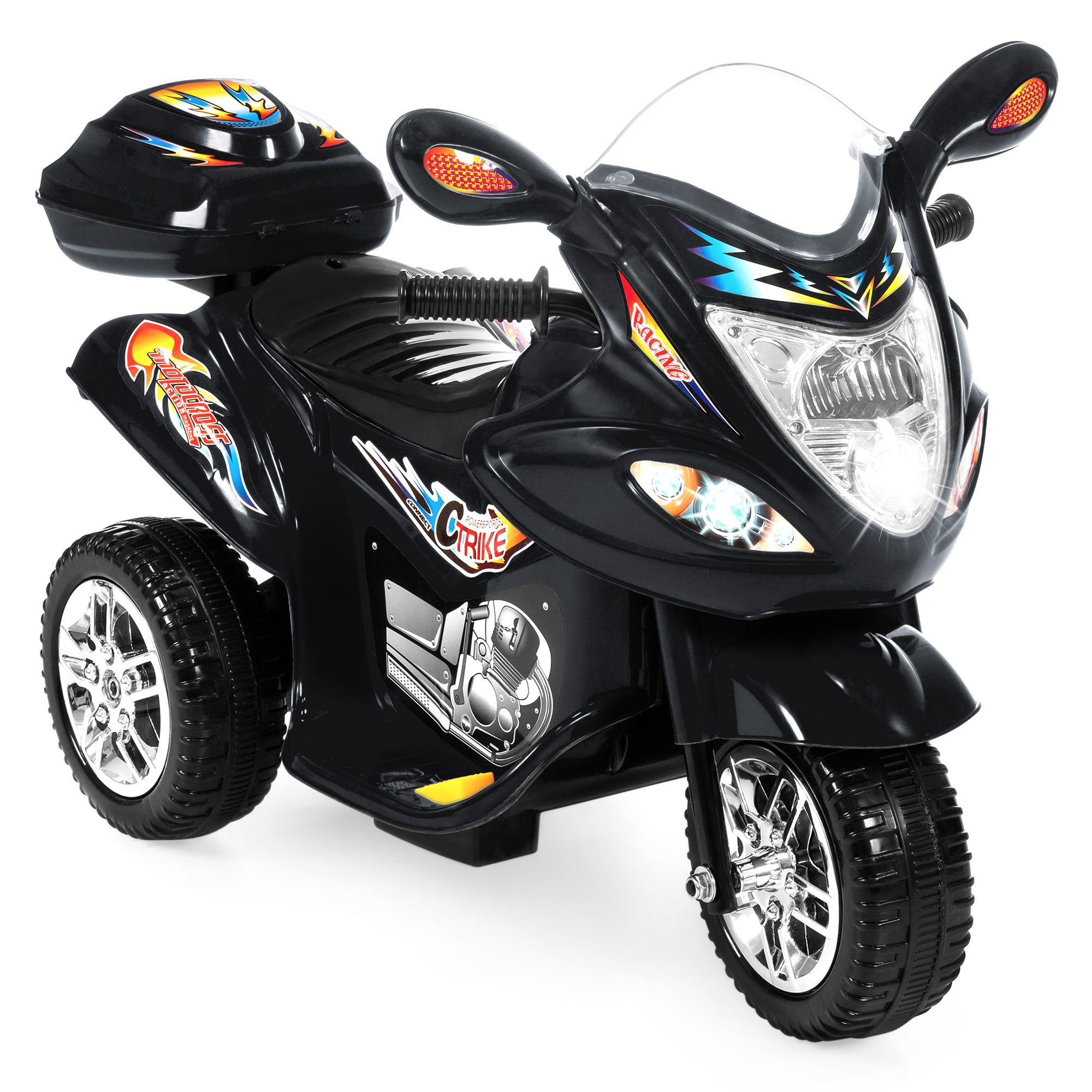 Click here to buy Best Choice Products 6V Kids Battery Powered Electric 3-Wheel Motorcycle Bike Ride-On Toy w  LED Lights,... by Best Choice Products.