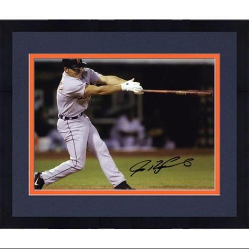 "Framed Ivan Rodriguez Detroit Tigers Autographed 8"" x 10"" Horizontal Photograph - Fanatics Authentic Certified"