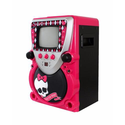Monster High Portable Karaoke Machine - Pink
