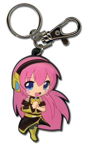Moive Anime Harry Potter key chain Silicone pendant key ring High-quality goods
